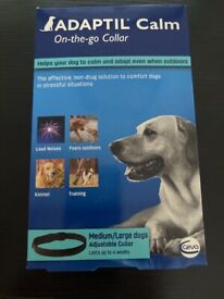 Adaptil collar for dogs.