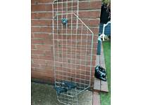 Dog guard wire mesh adjustable as new