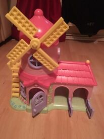 Windmill house kids toy