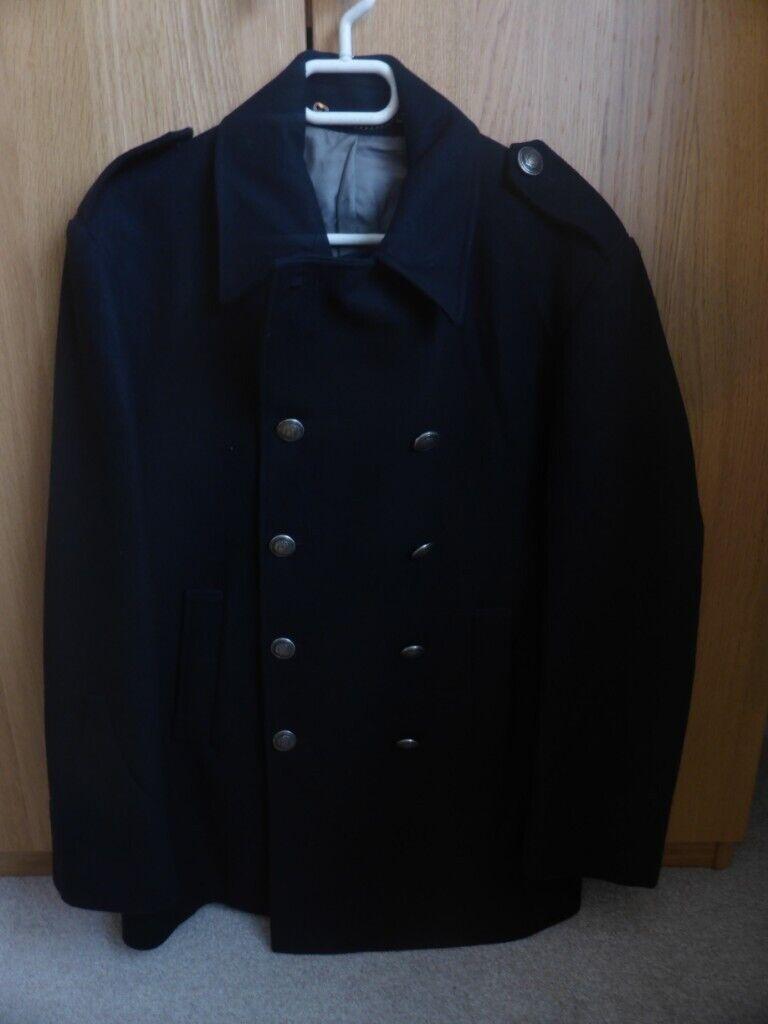 bc35862af55 Charles Tyrwhitt Dark Blue Cashmere Wool Coat