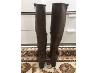 Never-worn 6.5 heeled boots for sale