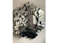 Next wall mirror 'starburst'