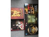 Danny Boyle game of thrones XMen 300 Indiana jones DVDs
