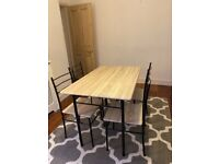 4 Person Dining Table and Chairs