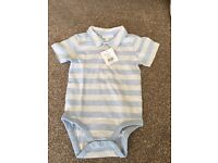 Brand new with tags White Company 18-24 months boys tshirt and summer cords set