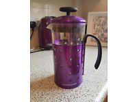 Purple Morphy Richards Cafetiere