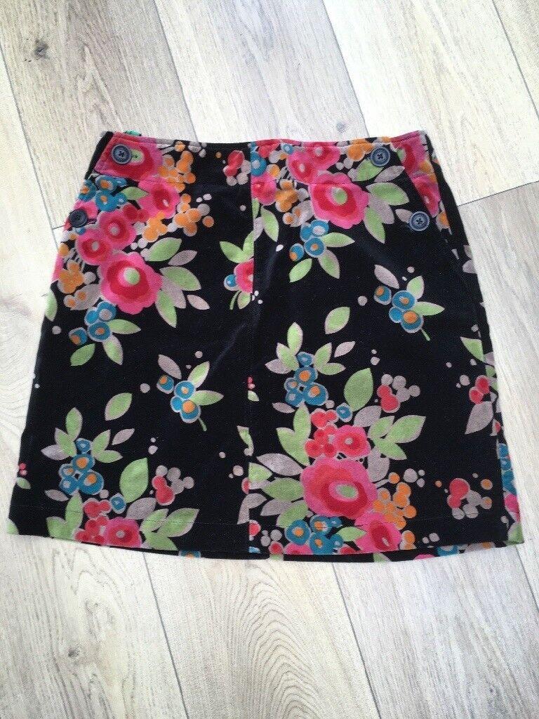 Boden Velvet Skirt size 12R