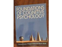 Foundations of Cognitive Psychology by Fernand Gobet, Philippe Chassy and Merim Bilalic