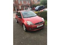 Ford Fiesta 1.4 Zetec - 87k miles and fully loaded