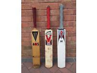 Cricket Bats x3