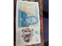£5 note AK45