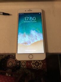 Apples iPhone 7 Plus 256gb unlocked gold with receipt