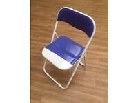 Folding Stackable Plastic Chair