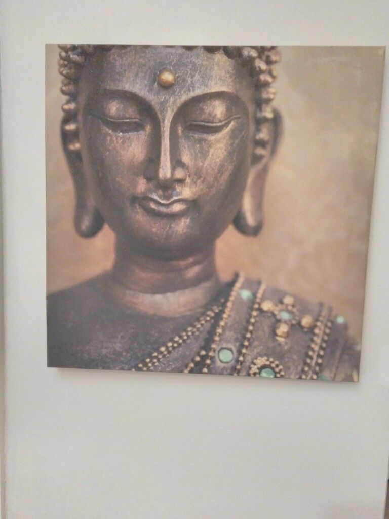 Large buddha canvas from NEXT