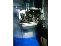 EVINRUDE 50 HP SHORT SHAFT ELECTRIC +PULL START +REMOTES