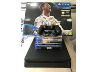 1TB PS4/PlayStation 4 with games