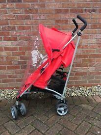 Zeta Voom Stroller/Pushchair with carry case