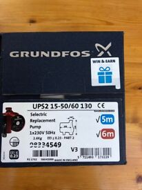 Grundfos UPS2 14-50/60 central heating pump