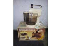 KENWOOD CHEFETTE MIXER AND BLENDER BOXED
