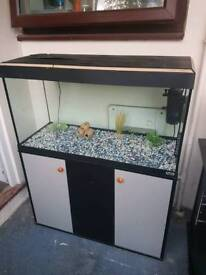 FLUVAL FISH TANK AND STAND FOR SALE