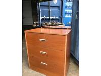 Chest of drawers with mirror FREE DELIVERY PLYMOUTH AREA