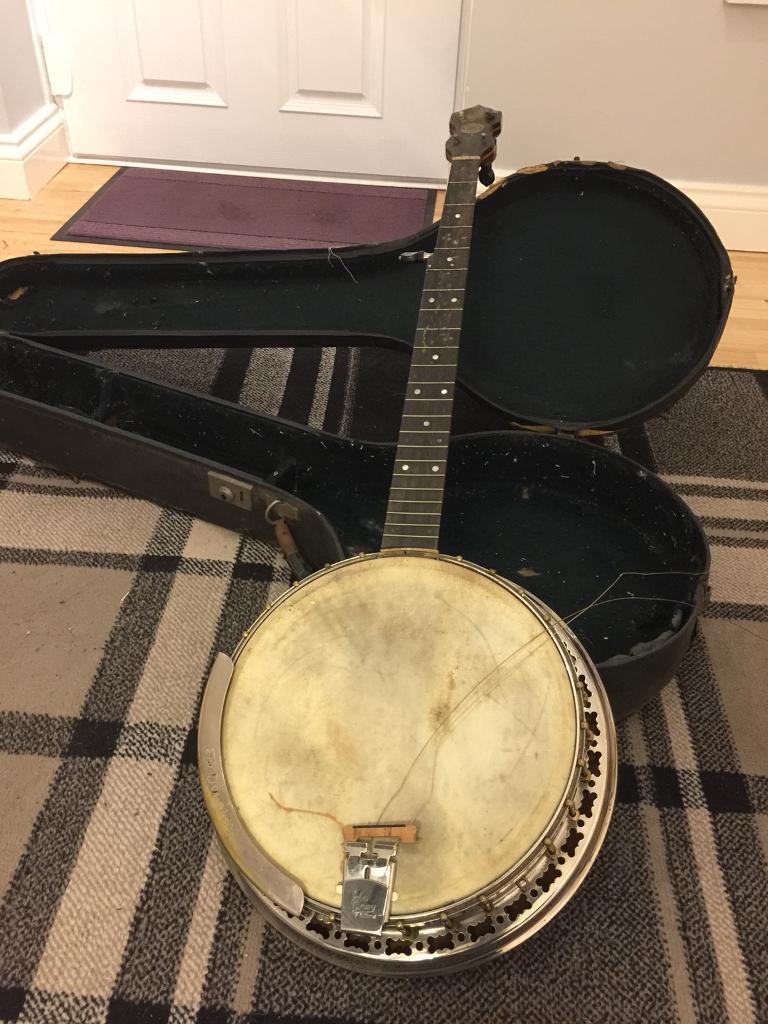 1920s/30s John Grey Benares banjo in need of minor restoration | in  Hatfield, Hertfordshire | Gumtree