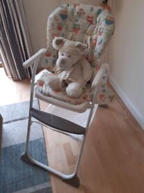 High Chair by 'Joie'