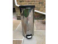 Simple human 30L stainless steel kitchen bin