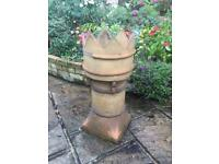 Reclaimed chimney pot. Vintage architectural salvage great for plants, gardens and patios!