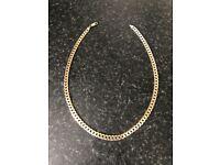 Gold curb chain 31.9 grams 22 inch