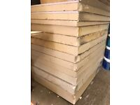 Variety of insulation boards available