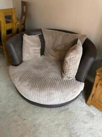 'Love' / swing chair from DFS