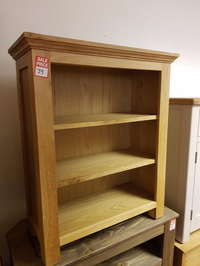 knightbridge small bookcase oak