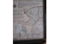 TITHE MAP BRAMHALL