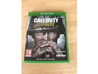 XBox One Call of Duty WWII game boxed