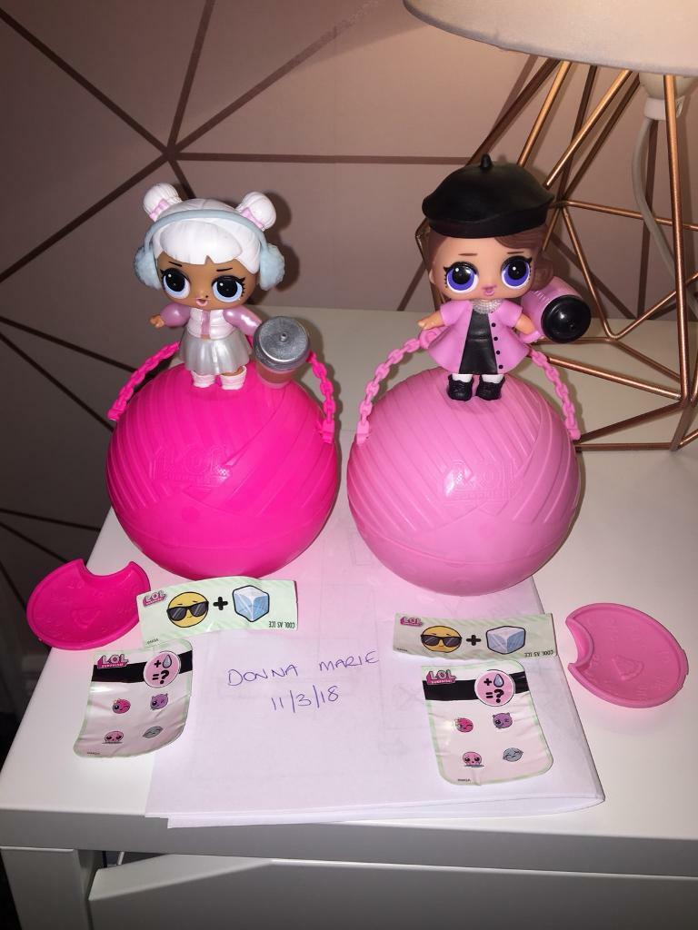 Lol series 2 dolls snow angel and posh