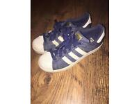 Adidas size 4 trainers great condition