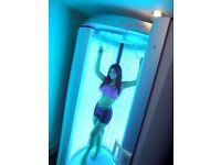 Ergoline Sunrise 488 vertical tanner / sunbed