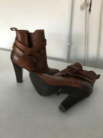 Dune size 38/5 brown boots
