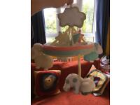 Mothercare cot mobile with music