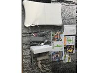 Wii Bundle - Console, Wii Fit + games
