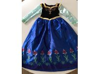 Disney Anna costume with shawl, age 8-9