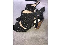 Size 6 Dorothy Perkins heeled sandals