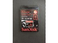 Sandisk extreme CF card 8GB 60MB/s UDMA