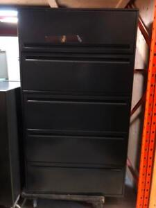 Haworth 5 Drawer Lateral Filing Cabinets - $299