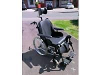 Full articulation wheelchair