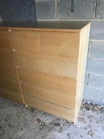 Ikea chest of 6 drawers + Free delivery