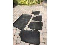 Peugeot 2008 fitted rubber mats and bootliner