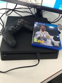 SELLING PS4 CONSOLE!! 1TB WITH FIFA 18!