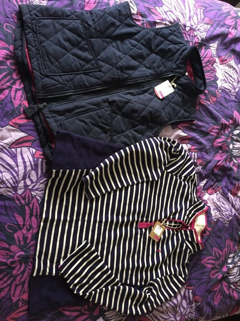 2 joules items bodywarmer and jumper
